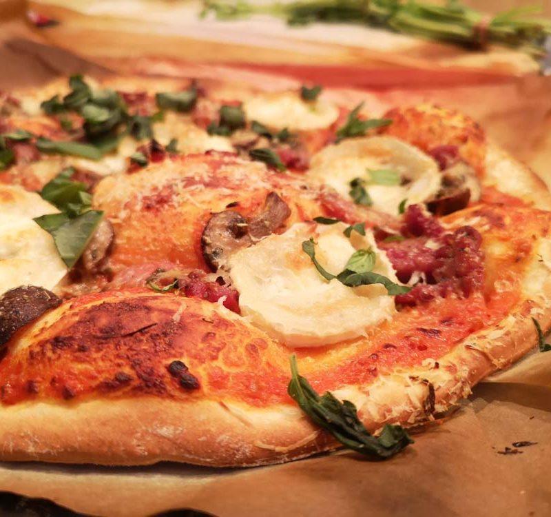 pizza facile rapide coulis tomates maison