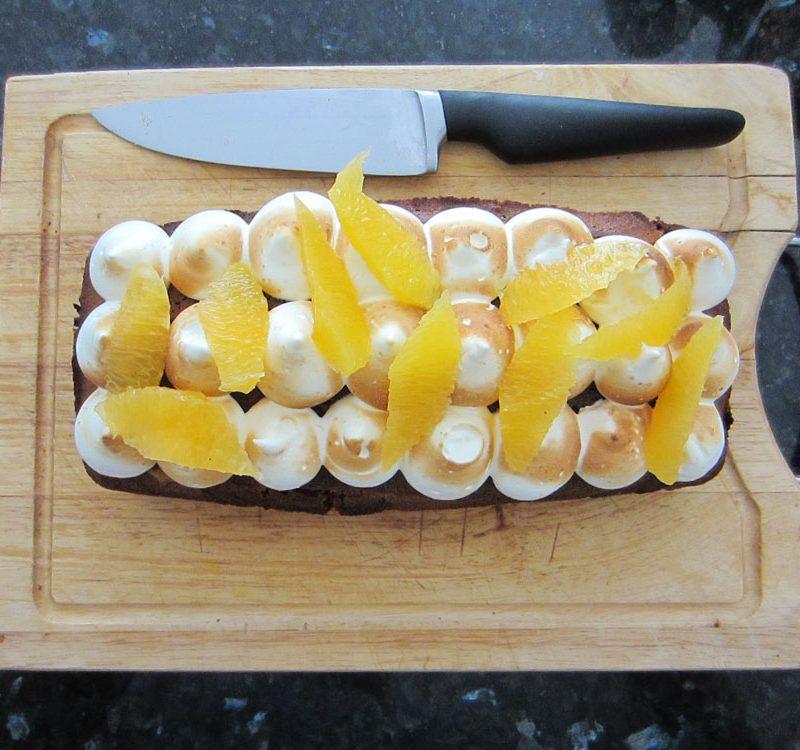 Marbré chocolat orange