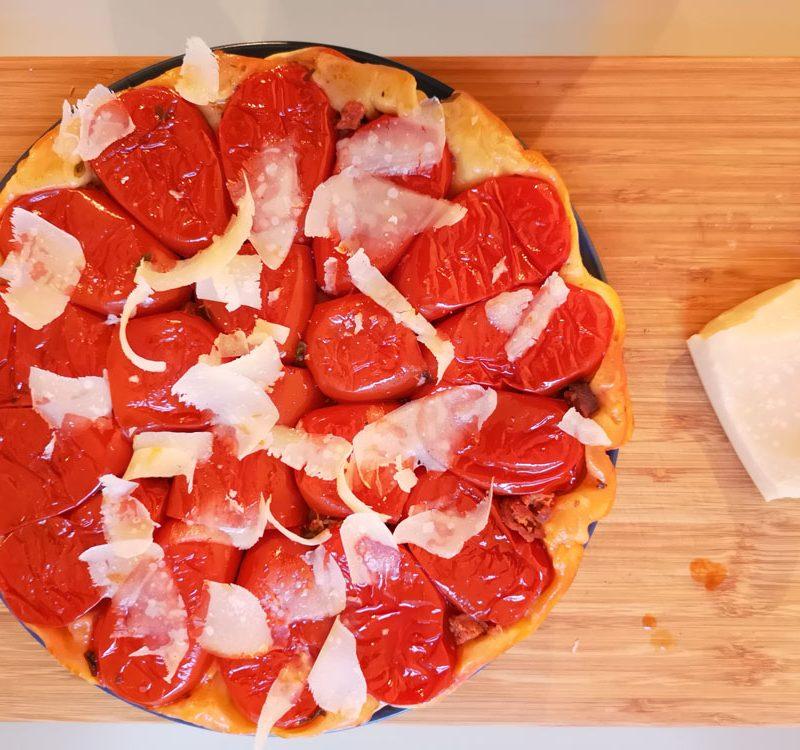tatin tomates parmesan