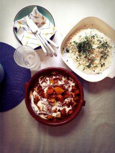 curry légumes riz