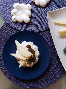 recette de pavlova aux fruits avec chantilly