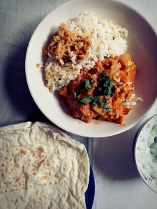 recette curry végétarien