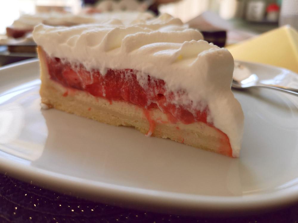 tarte vanille dessert fraises