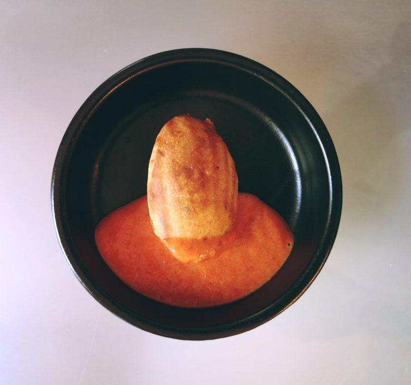 madeleines salées dans un bol pour apéro dinatoire