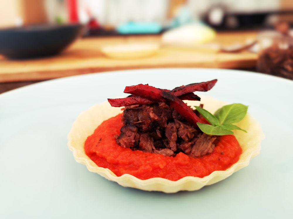tartelette tomate été cuite facile boeuf bourguignon