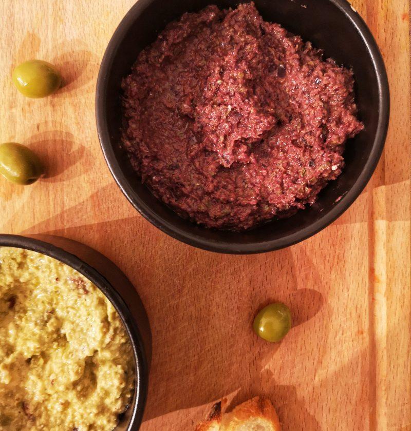 aperitif facile tapenade olive noire